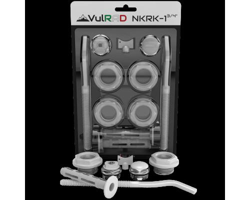 Набор радиаторный NKR 1 3/4  с кронштейном VulRAD
